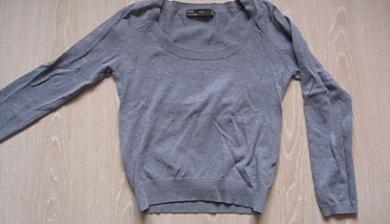 Gebreide trui kleiner maken