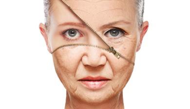 oud en strak huid